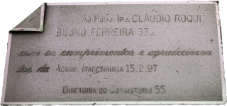 Placa do Consistório 55