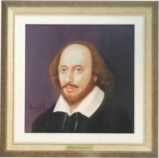 Retrato de Willian Shaskespeare