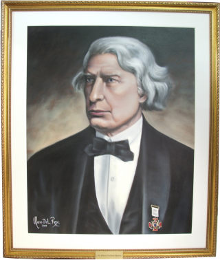 Retrato do Dr. Albert Gallatin Mackey
