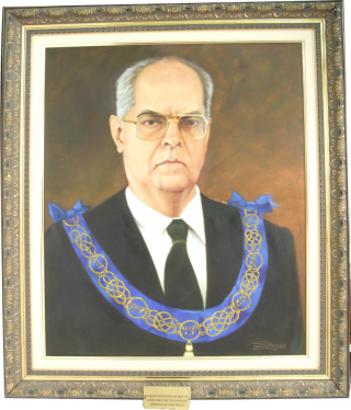 Retrato do Grão-Mestre Rubens Barbosa de Matos